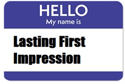 Using First Impressions Wisely in Recruiting